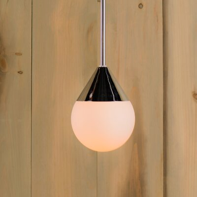 Epicurus 1-Light Mini Pendant Size: 8 H x 6 W x 6 D