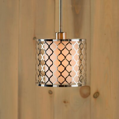 Krumm 1-Light Drum Shape Mini Pendant