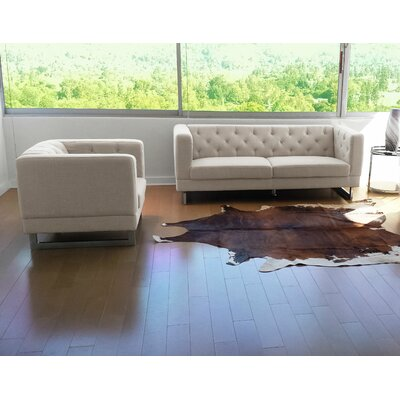 Zoey Sofa and Chair Set