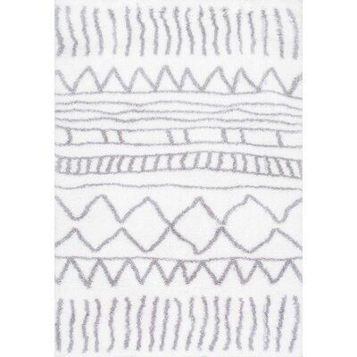 Norby Gray Area Rug Rug Size: 67 x 9