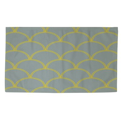 Archey Coral/White Area Rug Rug Size: 4 x 6