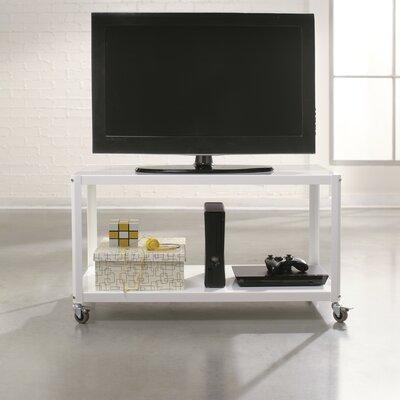 Taurus Multi Cart TV Stand Finish: Arctic White
