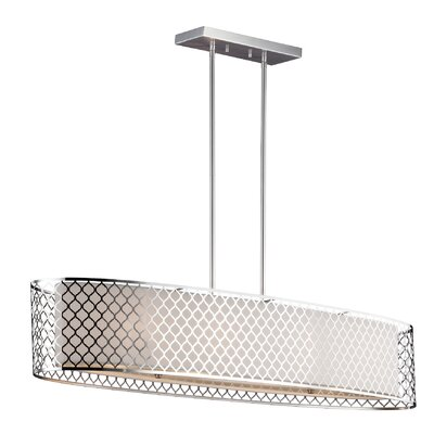 Krumm 4-Light Kitchen Island Pendant
