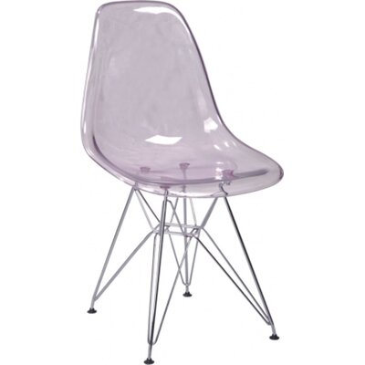 Boer Side Chair (Set of 2) Finish: Clear