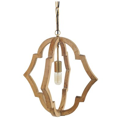 Boice 1-Light Foyer Pendant