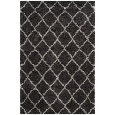 Biron Brown Area Rug Rug Size: Rectangle 4 x 6