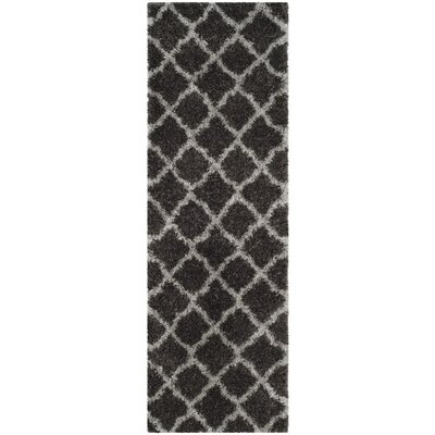 Biron Brown Area Rug Rug Size: Runner 23 x 7