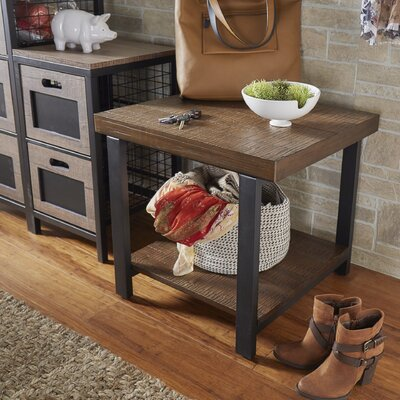 Leo End Table Finish: Brown