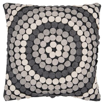 Bisson Halo Throw Pillow Cover Size: 18 H x 18 W x 0.25 D
