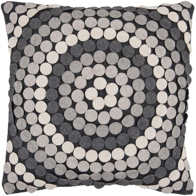Bisson Halo Throw Pillow Cover Size: 22 H x 22 W x 0.25 D