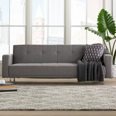 Armas Sleeper Sofa Upholstery: Dark Gray
