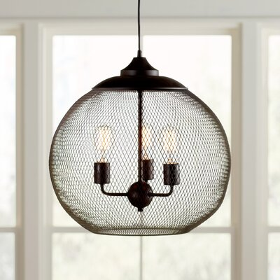 Abreu 3-Light Globe Pendant