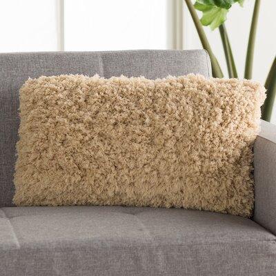 Nisha Throw Pillow Color: Champagne