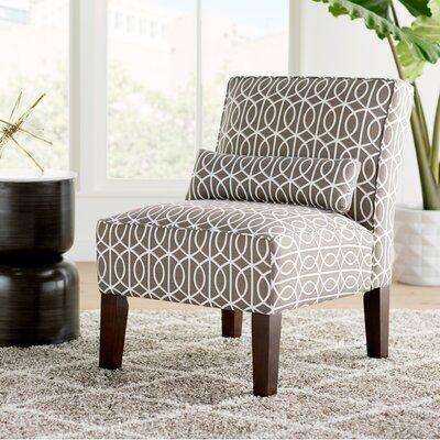 Arcelia Port Slipper Chair Color: Bella Porte Brindle