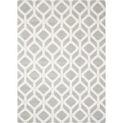 Psyche Gray Area Rug Rug Size: Rectangle 26 x 4