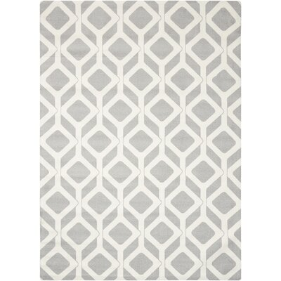 Psyche Gray Area Rug Rug Size: 4 x 6