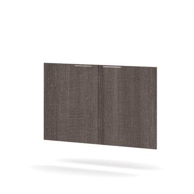Ariana 2 Door Set Color: Bark Grey