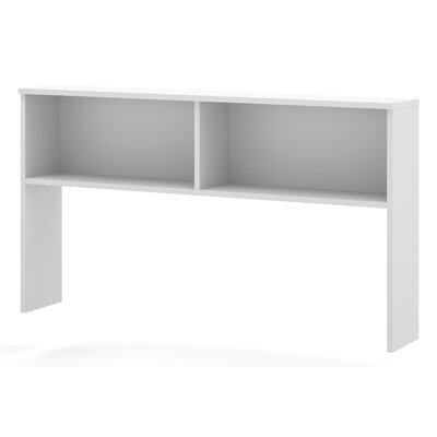 Ariana 40.4 H x 71.1 W Desk Hutch Finish: White