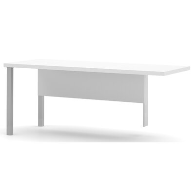 Ariana 29.9 H x 71.1 W Left Desk Return Finish: White