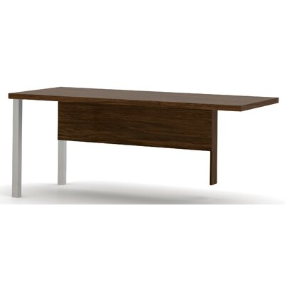 Ariana 29.9 H x 71.1 W Left Desk Return Finish: Oak Barrel