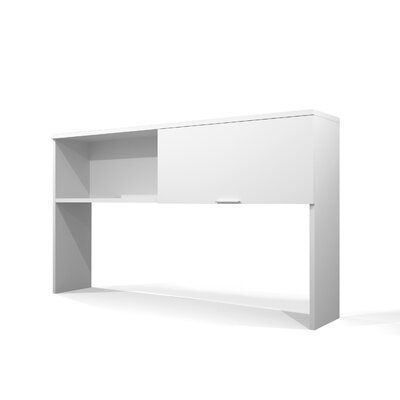 Carrozza 40.4 H x 71.1 W Desk Hutch Finish: White