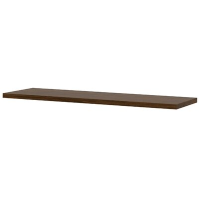 Carrozza 1.5 H x 59.5 W Desk Bridge Finish: Oak Barrel