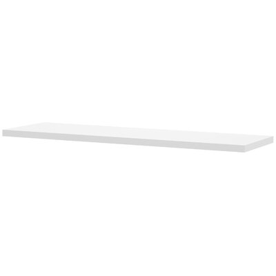 Carrozza 1.5 H x 59.5 W Desk Bridge Finish: White