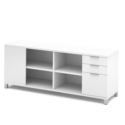 Ariana Sideboard with Drawer Color: White