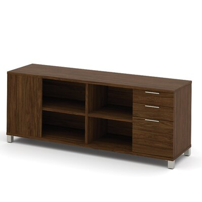 Ariana Sideboard with Drawer Color: Oak Barrel