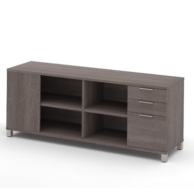 Ariana Sideboard with Drawer Color: Bark Gray