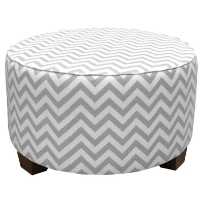 Mericle Cocktail Ottoman Upholstery: Ash / White