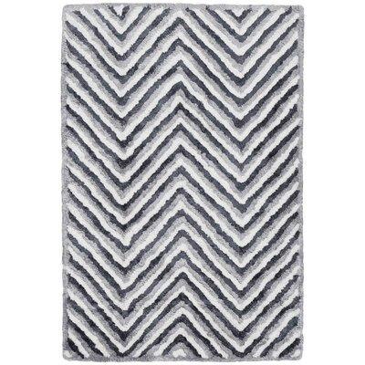 Arceo Hand-Tufted Ivory/Gray Area Rug Rug Size: Rectangle 8 x 10