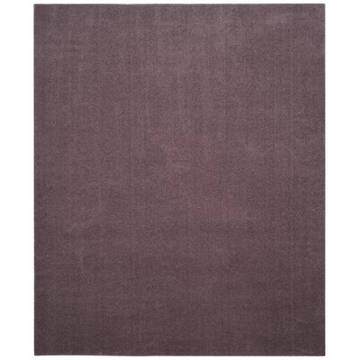 Blackstock Violet Area Rug Rug Size: Rectangle 8 x 10