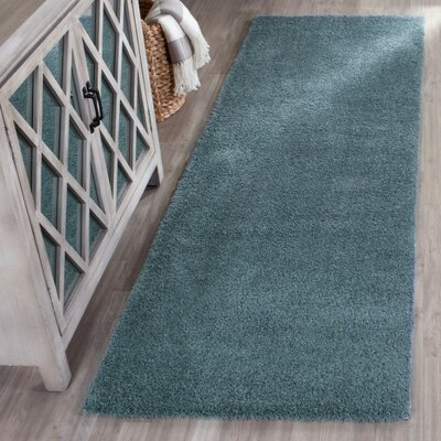 Blackstock Light Blue Area Rug Rug Size: Runner 23 x 7