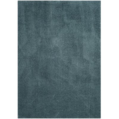 Blackstock Light Blue Area Rug Rug Size: 51 x 76