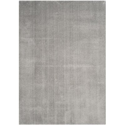 Blackstock Light Gray Area Rug Rug Size: Rectangle 67 x 92
