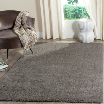 Blackstock Gray Area Rug Rug Size: Rectangle 67 x 92
