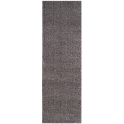 Blackstock Gray Area Rug Rug Size: Runner 23 x 7