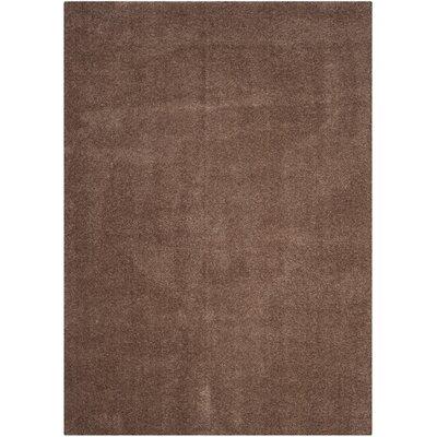 Blackstock Dark Beige Area Rug Rug Size: 51 x 76