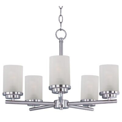 Callender 5-Light Shaded Chandelier