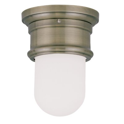 Candlewood Flush Mount Finish: Antique Brass