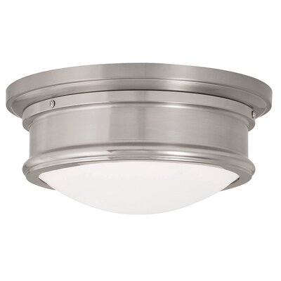 Candlewood 1-Light Drum/Cylinder Shade Flush Mount