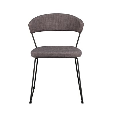 Calvin Side Chair Upholstery: Light Gray