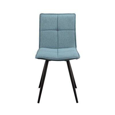 Calvo Side Chair Upholstery: Tiffany Blue