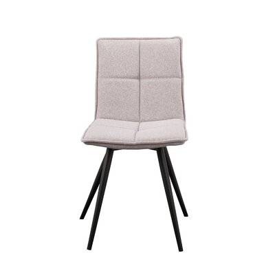 Calvo Side Chair Upholstery: T-Shirt Gray