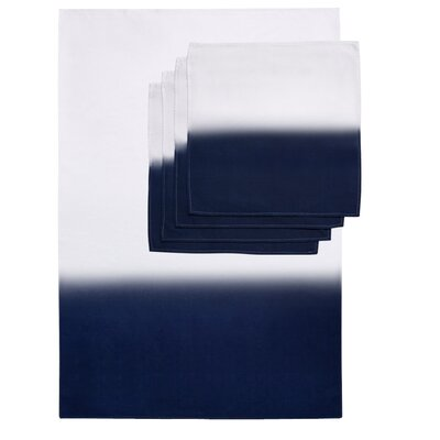 Zenobia 5 Piece Towel Set Color: Blue