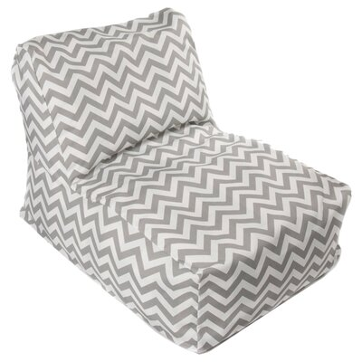 Nehemiah Bean Bag Lounger Upholstery: Grey