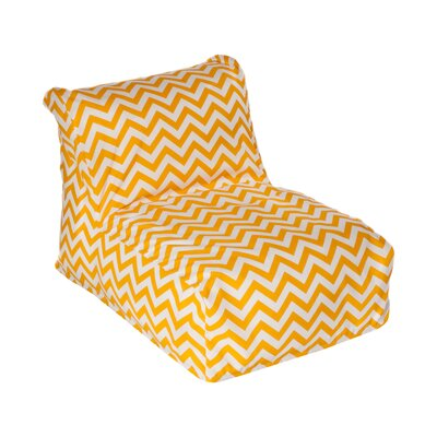 Nehemiah Bean Bag Lounger Upholstery: Yellow