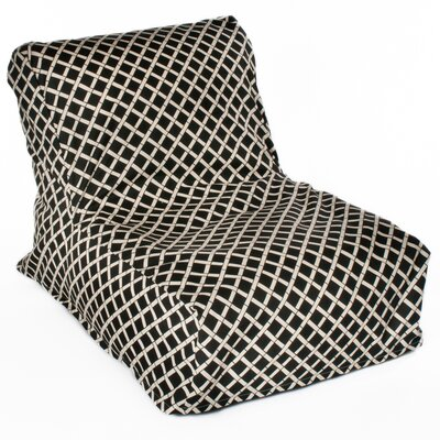 Cade Bean Bag Lounger Upholstery: Black