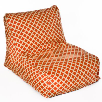 Cade Bean Bag Lounger Upholstery: Orange